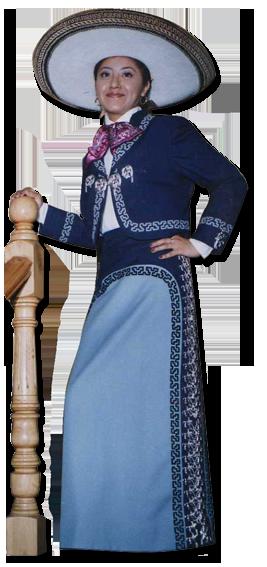 trajes de charro de mujer